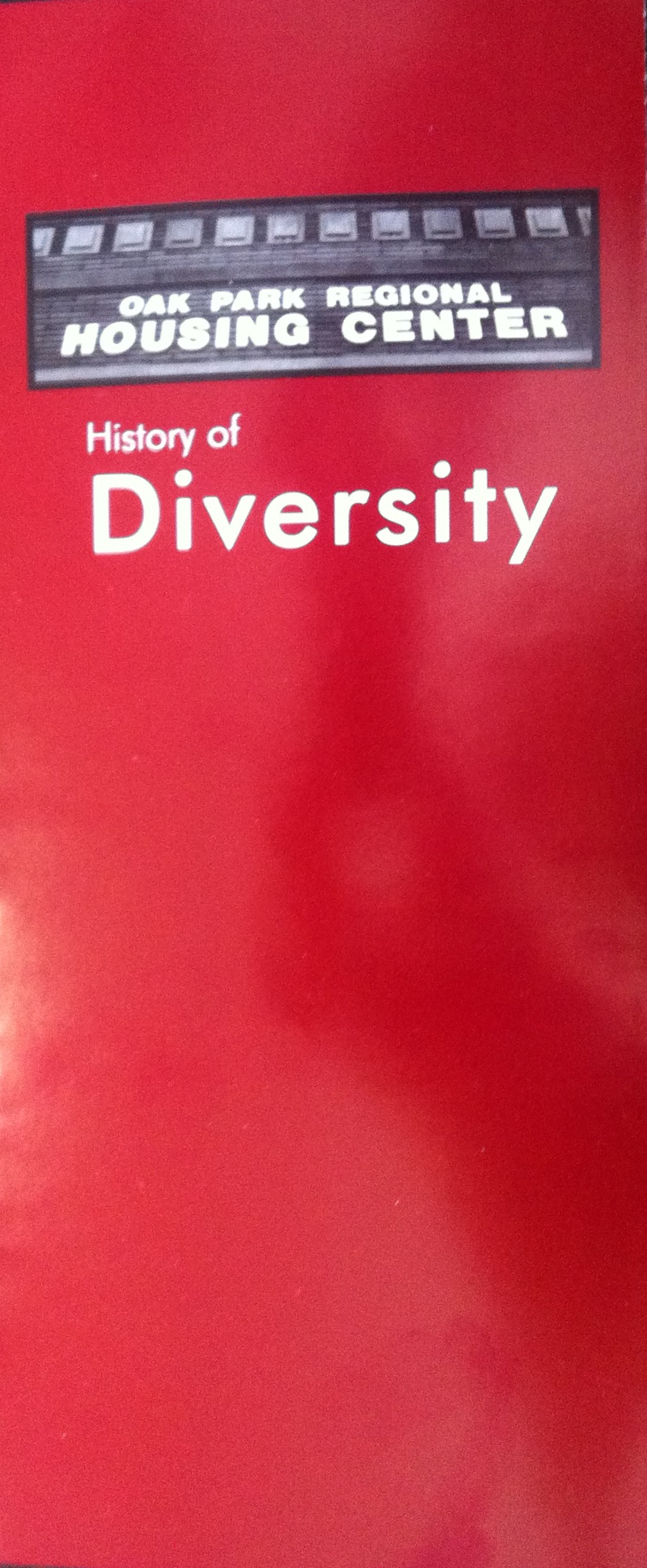 Before - History of Diversity Brochure